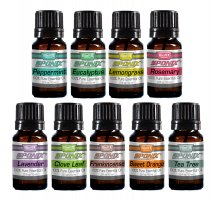 Top 9 Essential Oils Set #2 - 10 mL