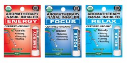 Relax, Energy and Focus Nasal Inhaler Set