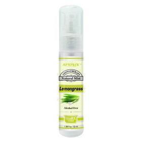 Sponix Lemongrass Aromatic Fragrance Mist - 1fl oz (Alcohol Free)